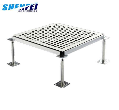 全钢防静电通风地板-(HPL面)
