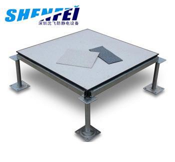 全钢防静电地板-(PVC贴面)